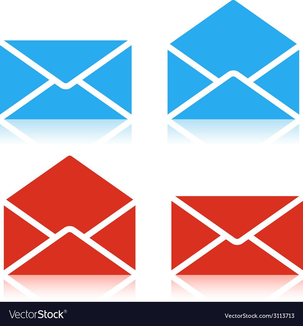 Envelope set Icon
