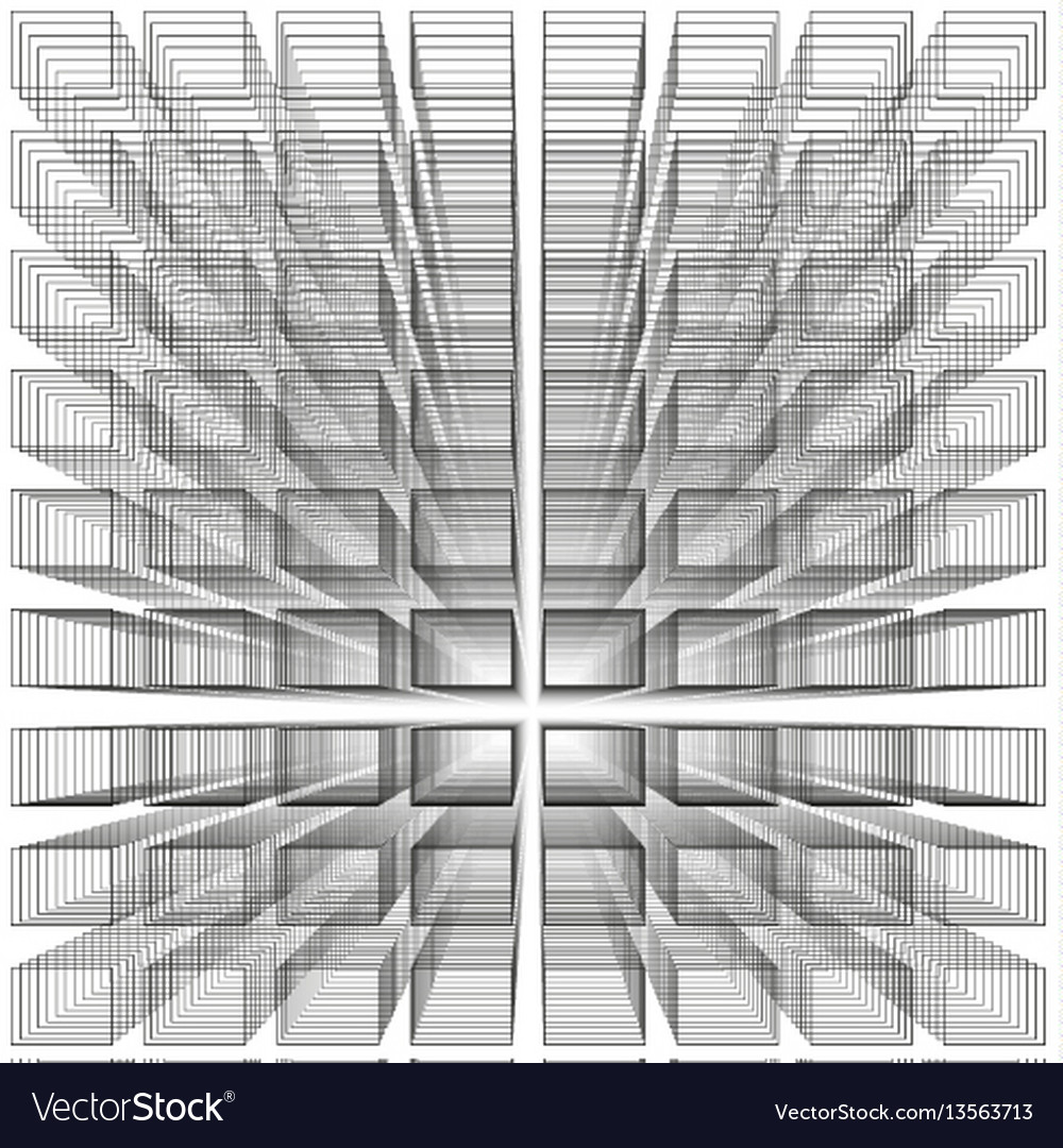White color abstract infinity background 3d