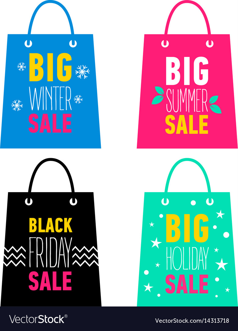 Big winter summer holiday black friday sale
