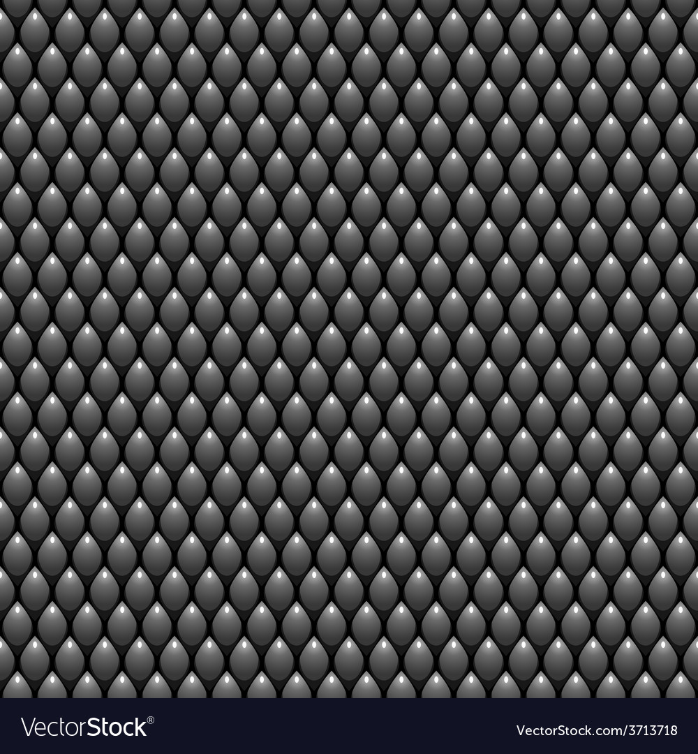 Black Scales Seamless Pattern Texture Stock