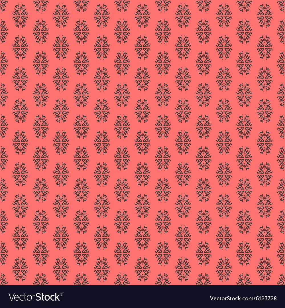Calligraphic element seamless pattern