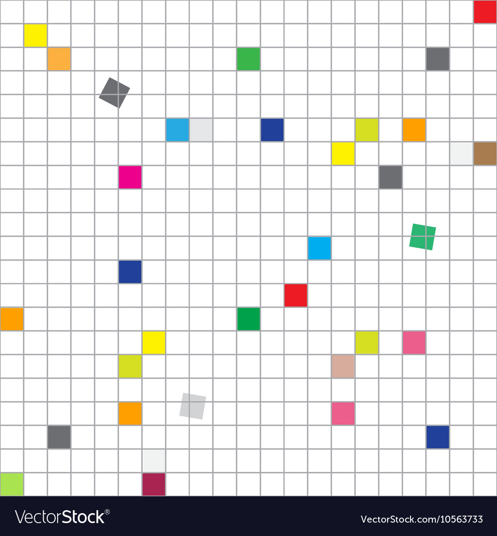 Seamless Grid Abstract Seamless Modern Squares