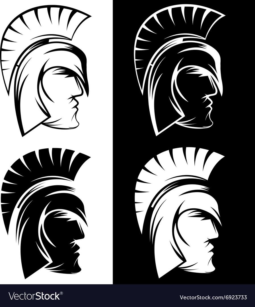 Spartan warrior set design template