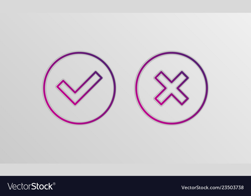 Check box icons