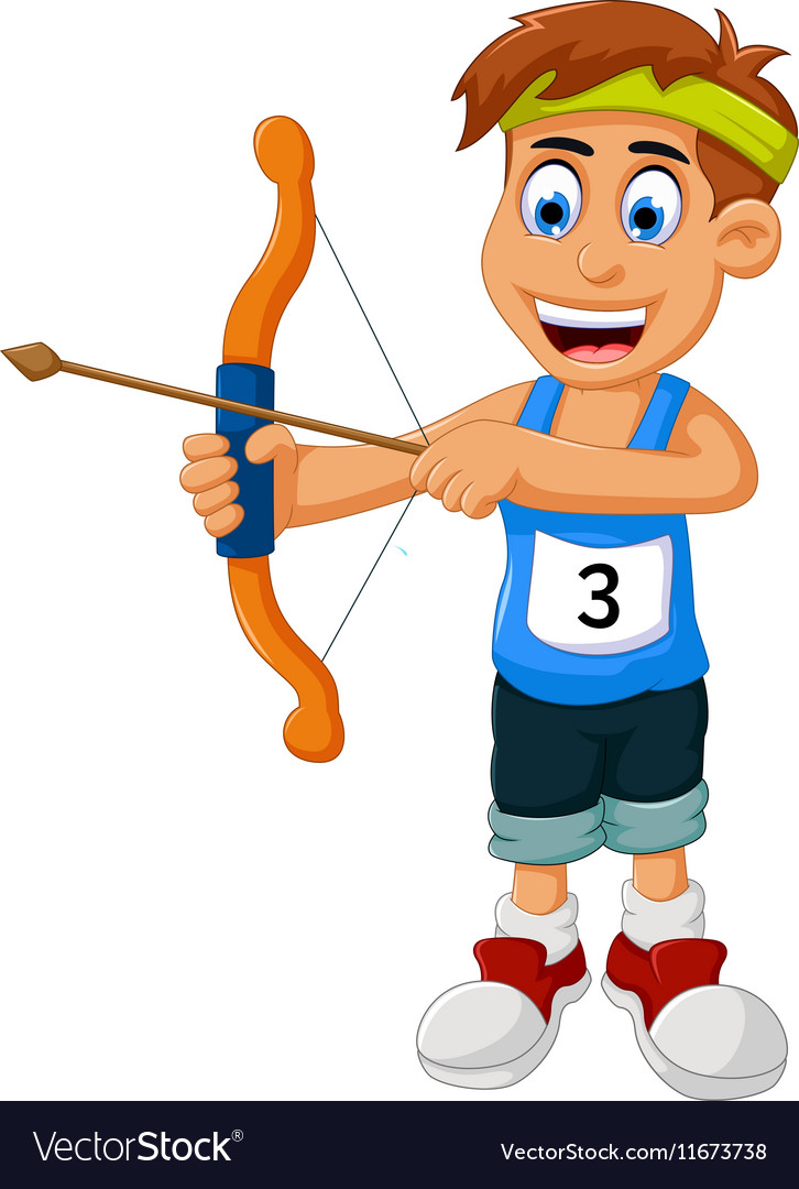 Image result for cartoon archery