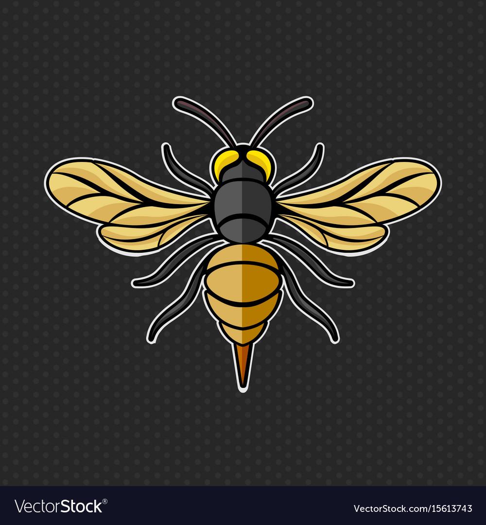 Hornet logo template