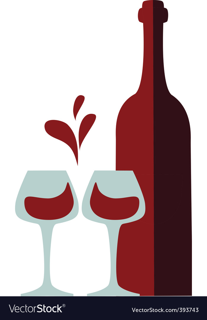 red wine royalty free vector image vectorstock rh vectorstock com wine vector png vine vector art