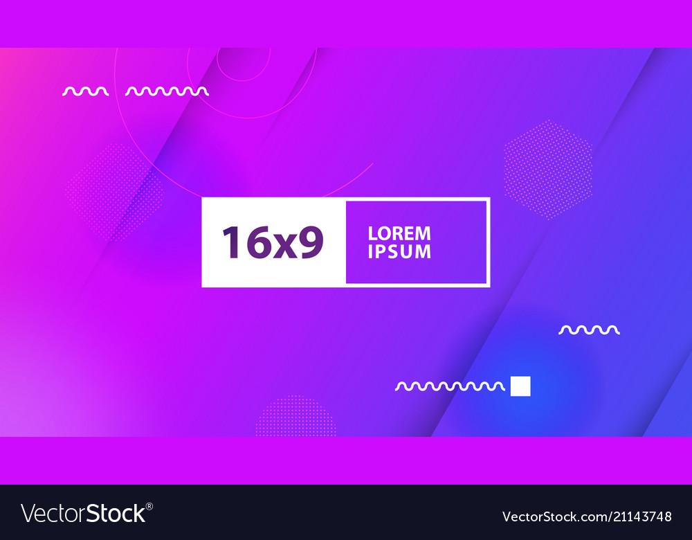Futuristic design purple background templates for