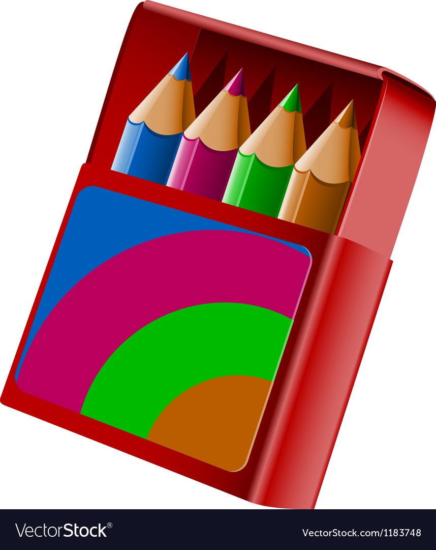коробка карандашей картинка на прозрачном фоне выставить правильное