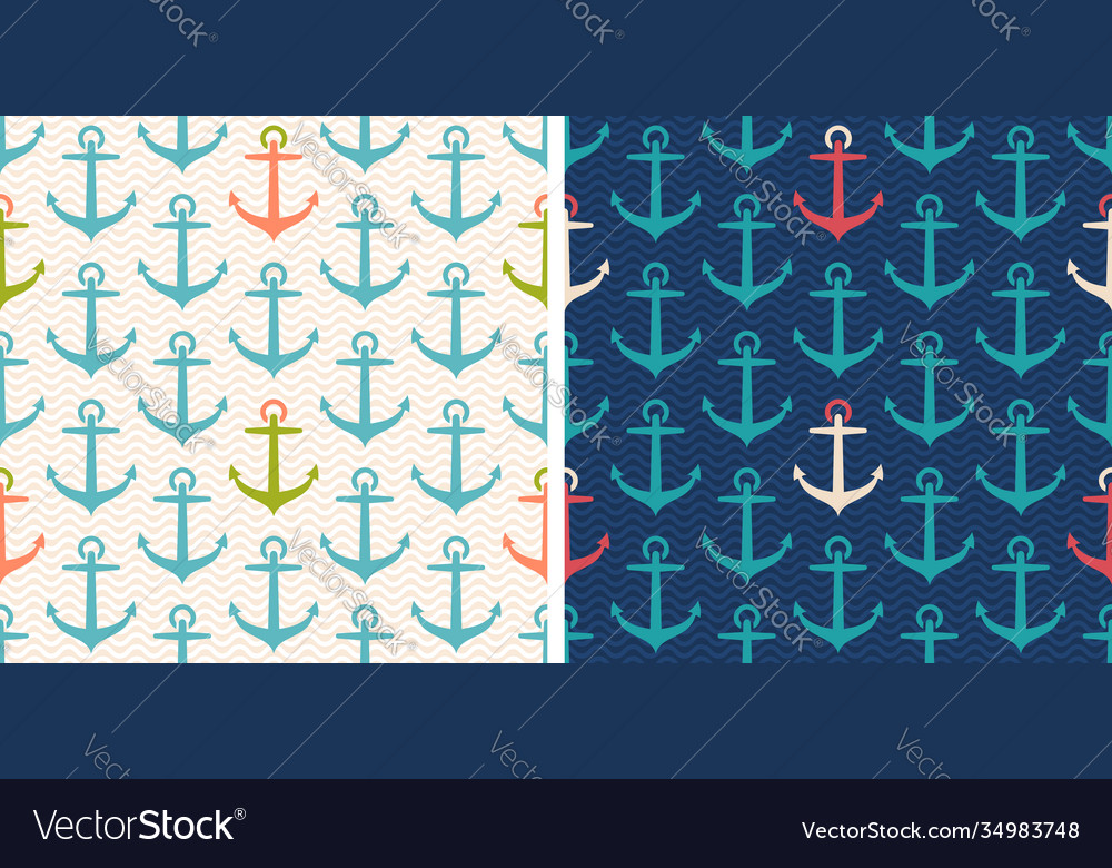 Set patterns with anchor