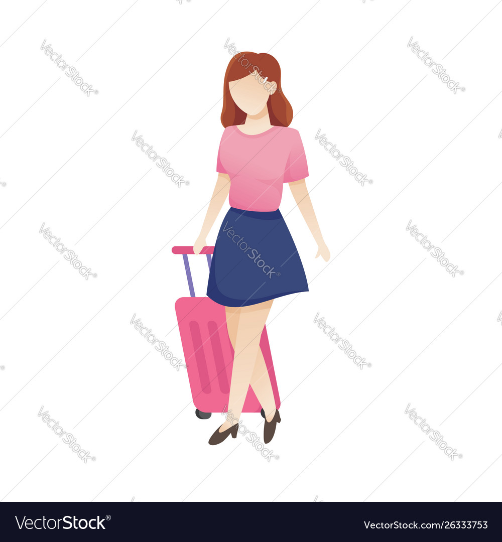 Women with luggage
