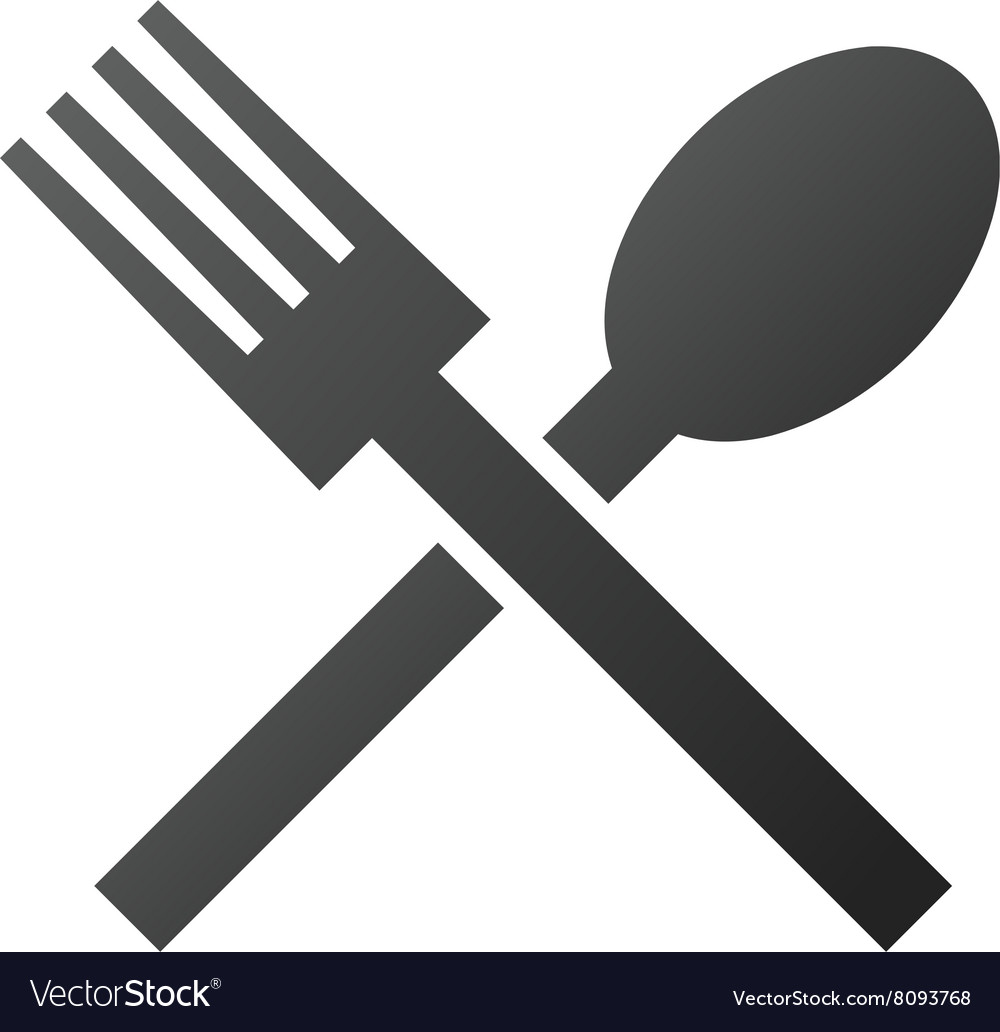 Fork and Spoon Gradient Icon