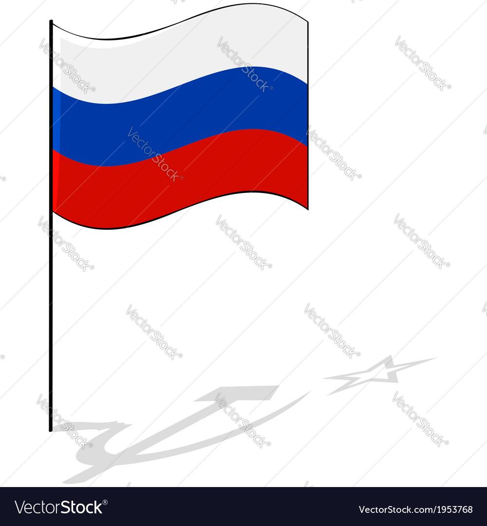 Soviet shadow vector image
