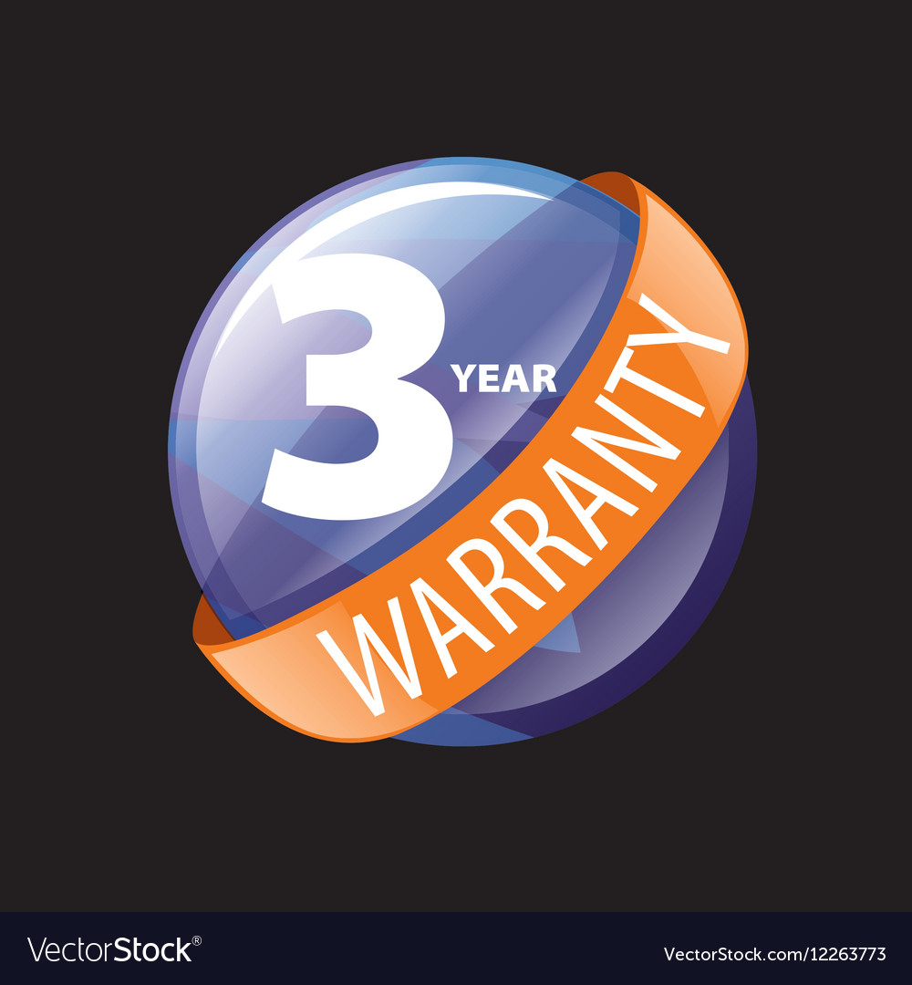 Logo 3 years warranty