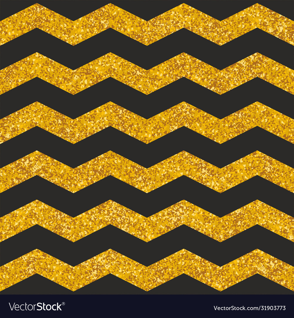 Tile pattern with black stripes and gold