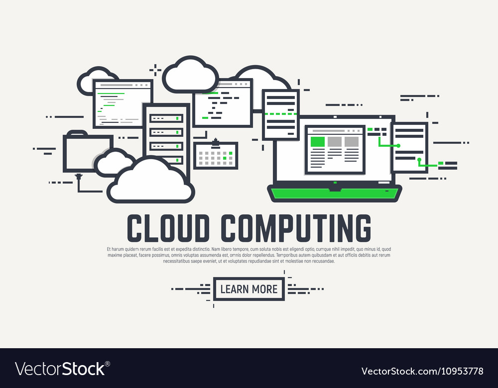 Cloud line computing
