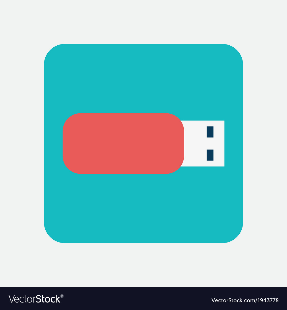 Flash drive icon