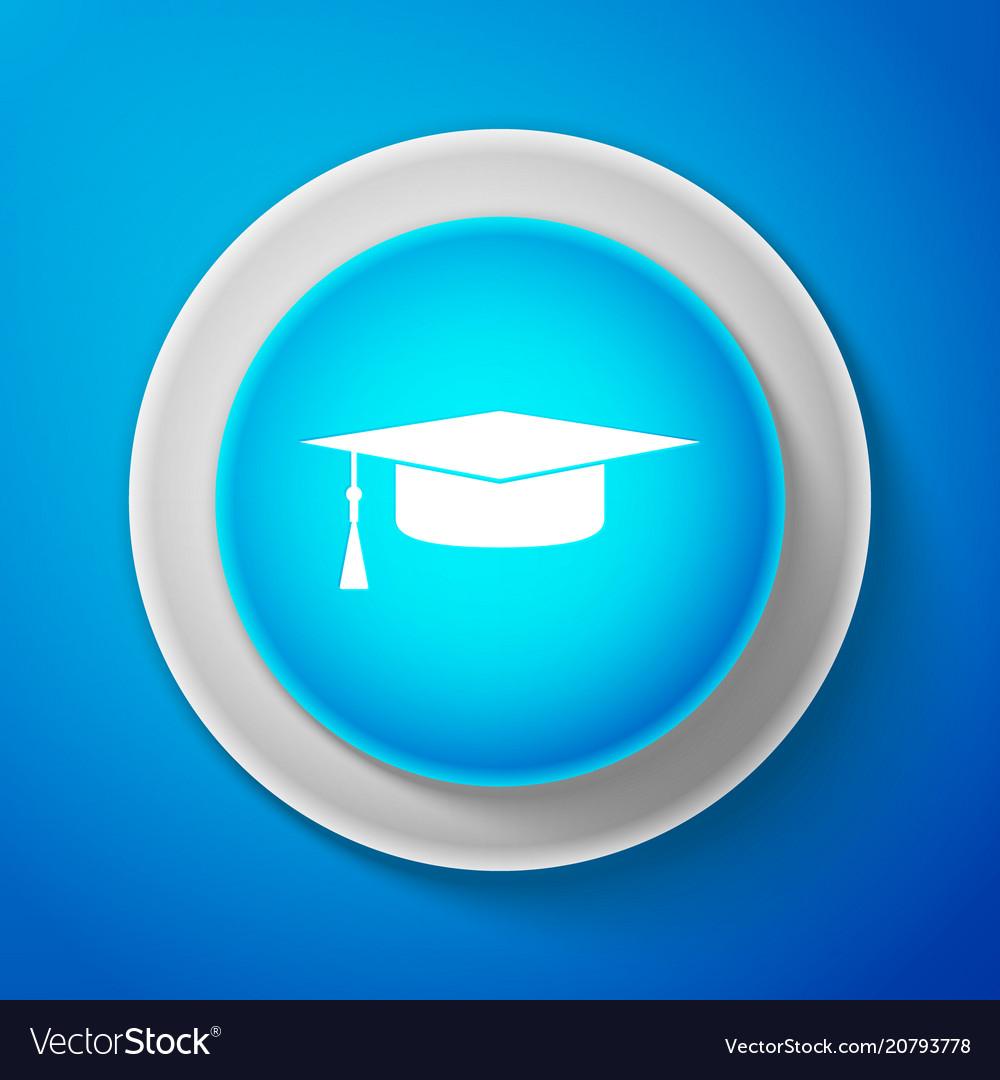 Graduation cap icon graduation hat with tassel
