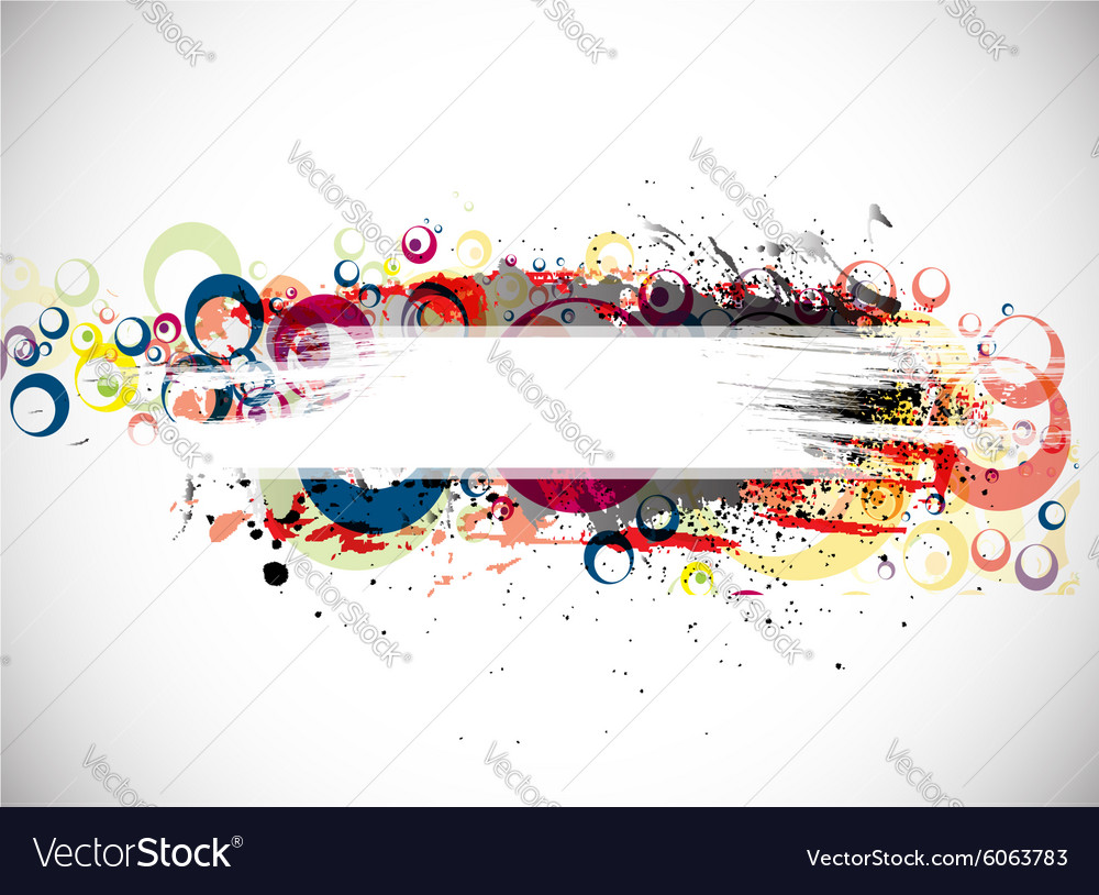 abstract colorful banner background royalty free vector