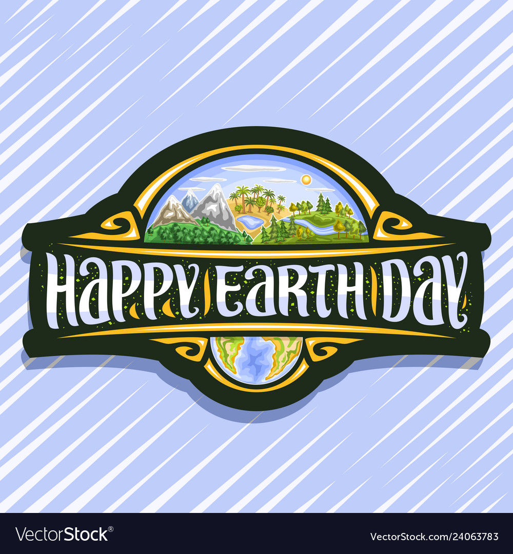 Logo for earth day