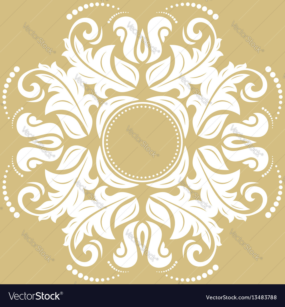 Elegant ornament in classic style