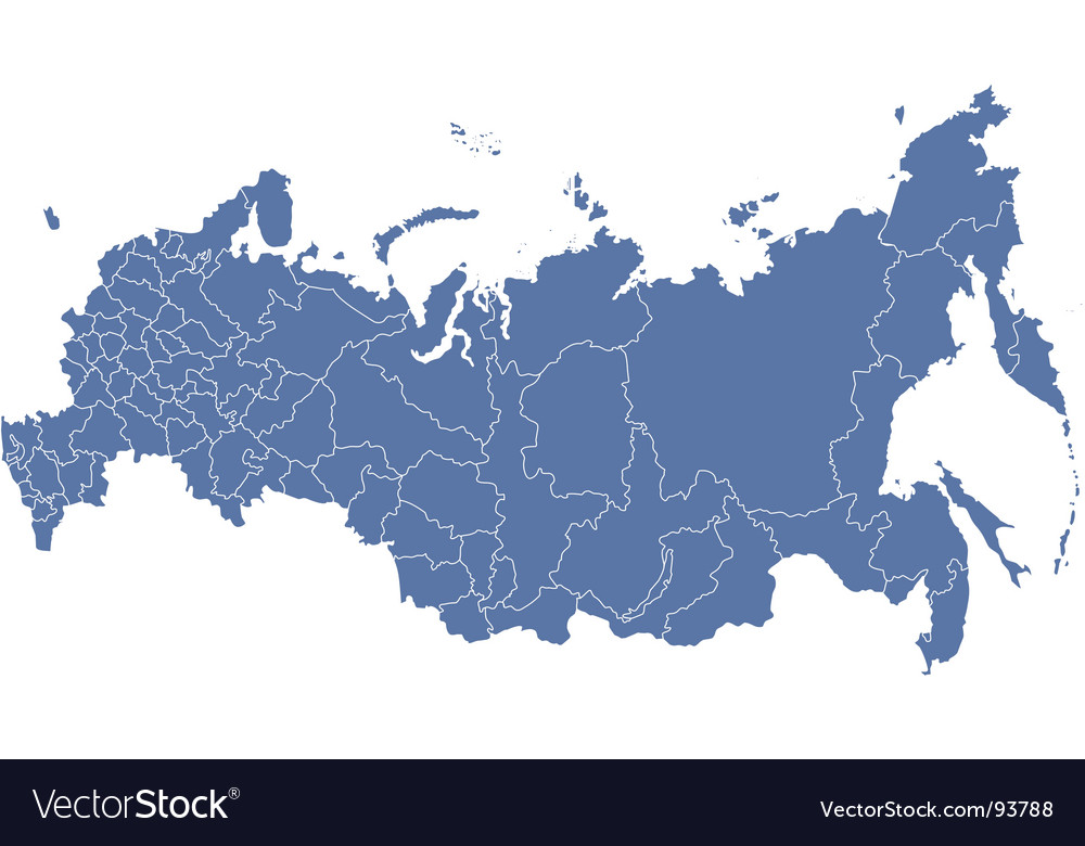 Russian regions map royalty free vector image vectorstock russian regions map vector image gumiabroncs Image collections