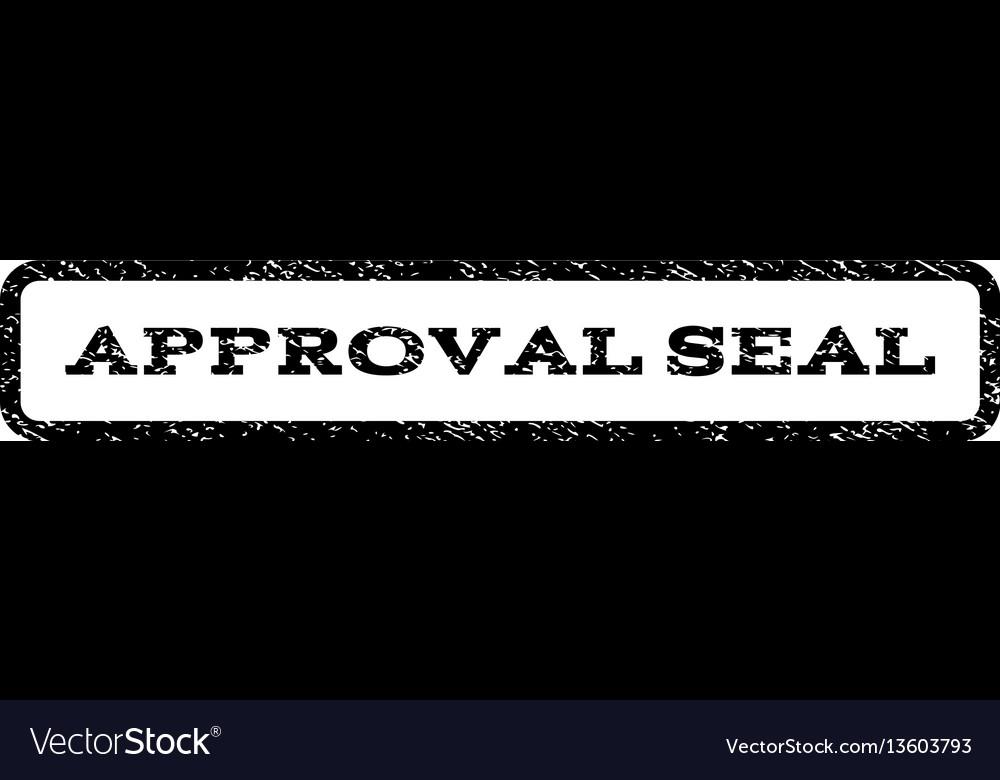 Approval seal watermark stamp