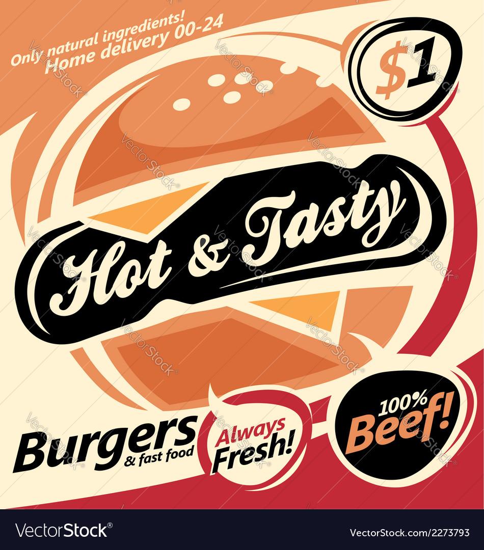 Burger document template