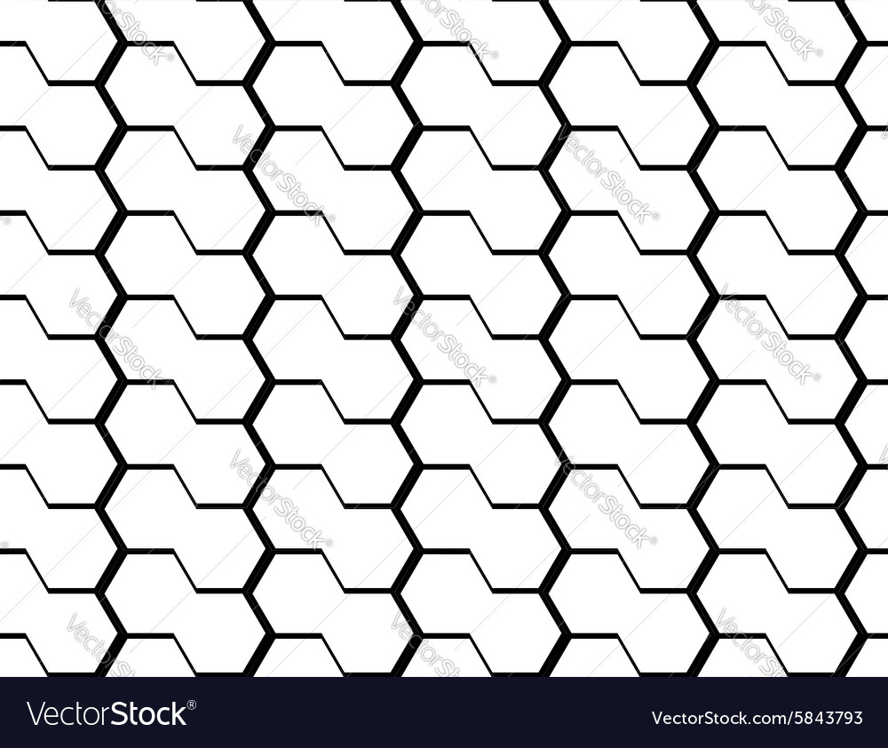 Hexagon Pattern Vector Cool Decoration