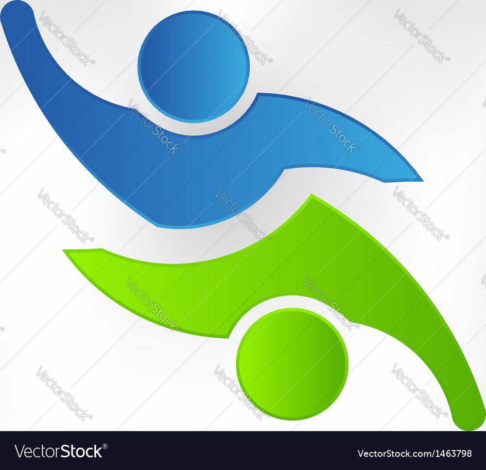Teaming Two Logo design