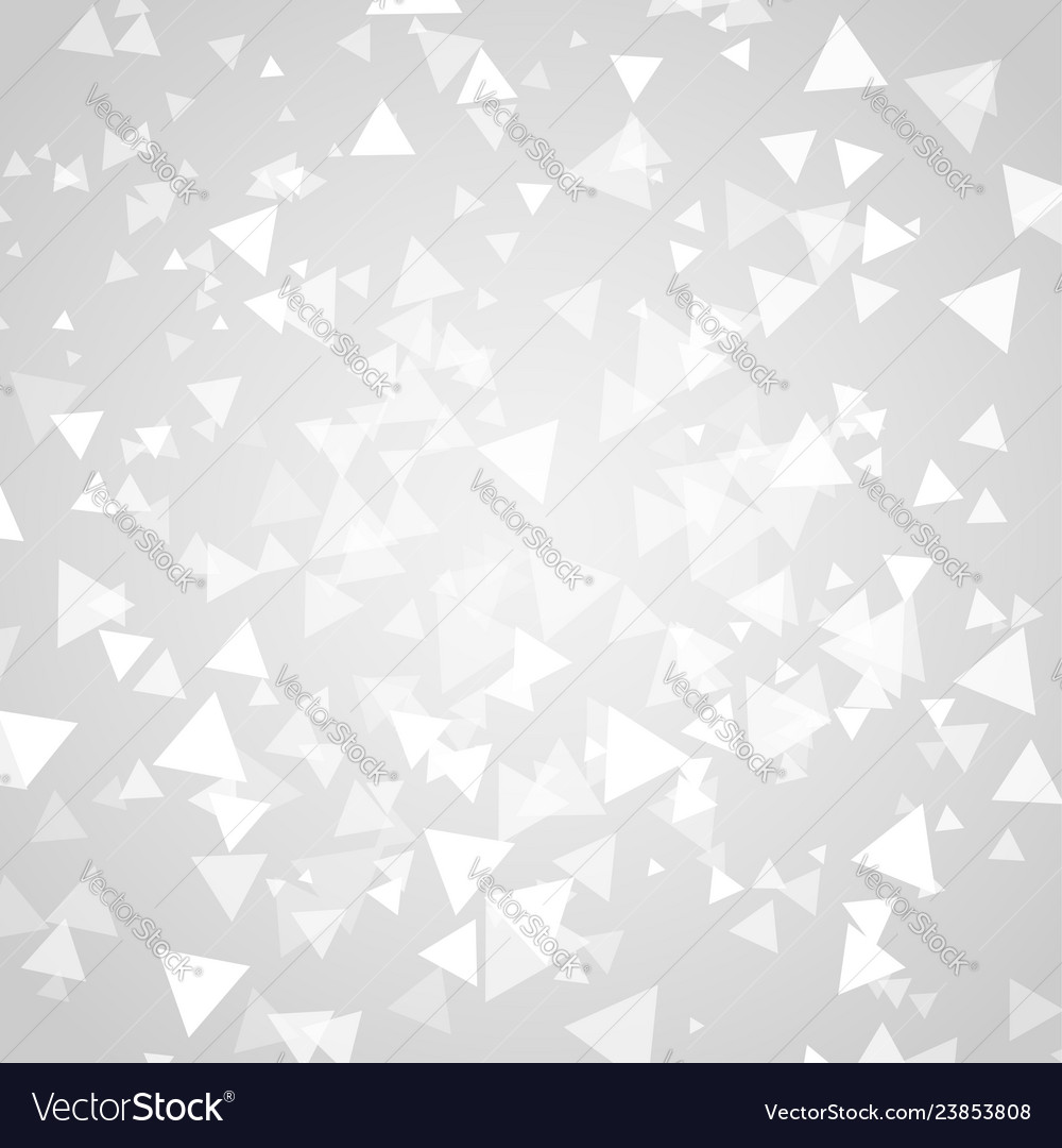 Abstract white triangle shapes overlap background