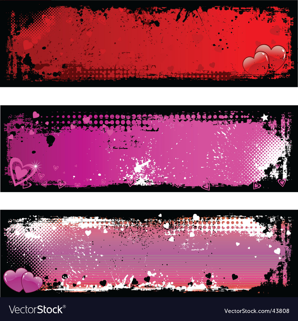 Grunge Valentine's backgrounds
