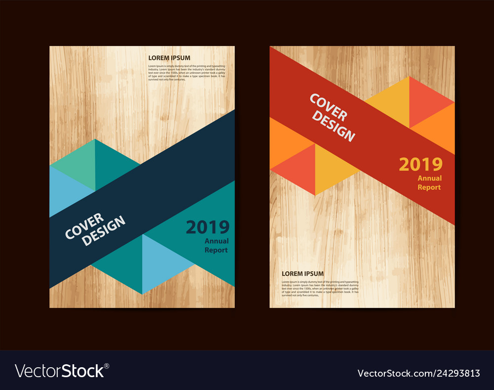 Business brochure flyer geometric design layout