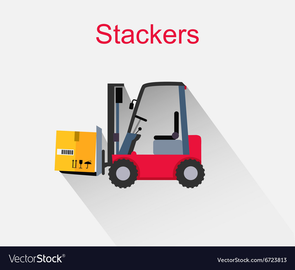 Stackers Icon Design Style Flat