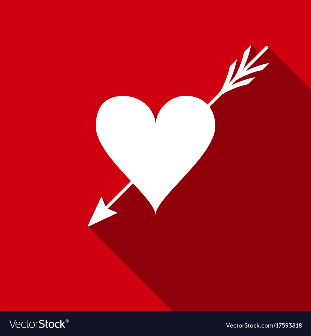 Amour Symbol With Heart And Arrow Icon Love Sign