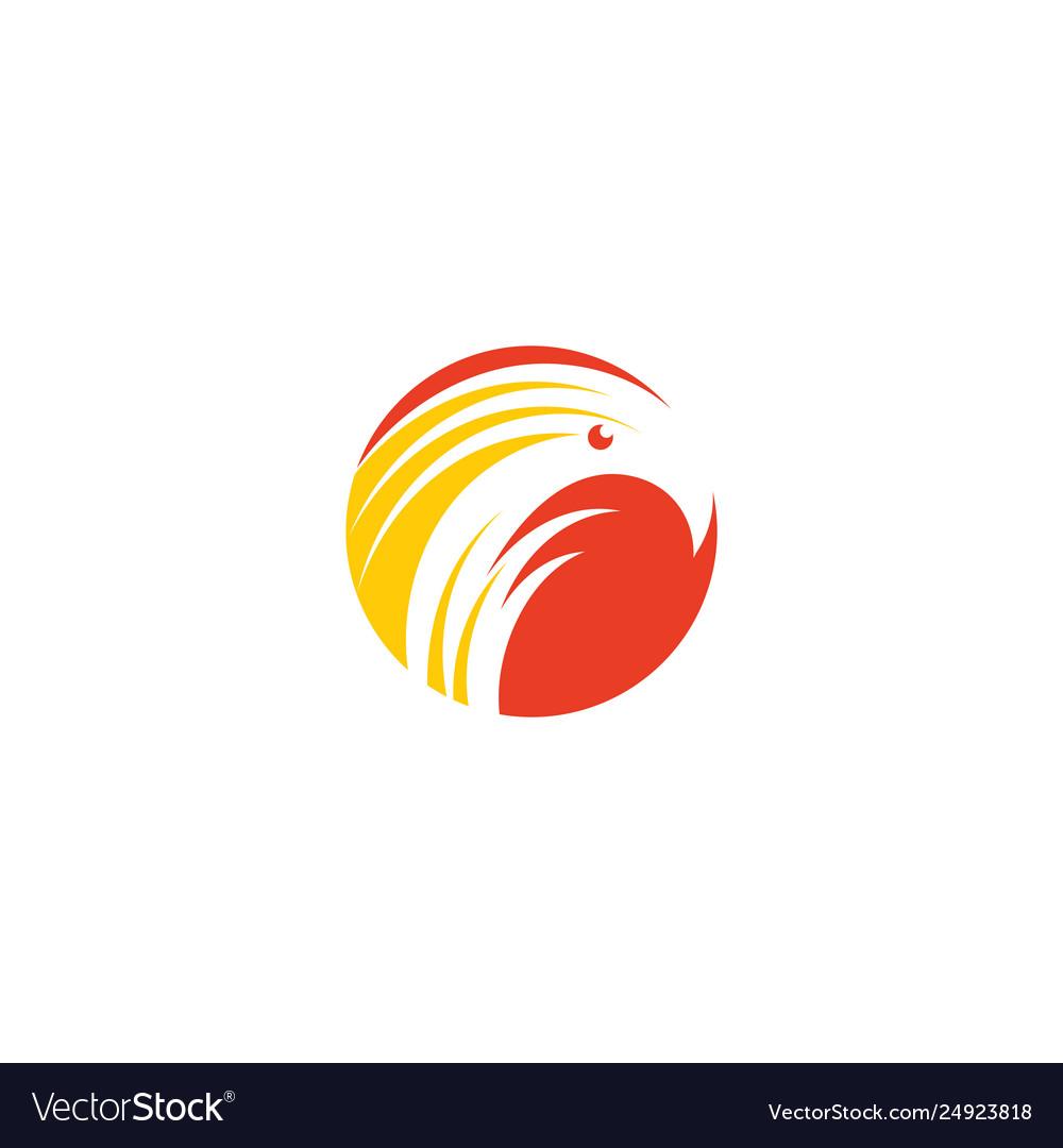 Firebird phoenix logo icon symbol sign element