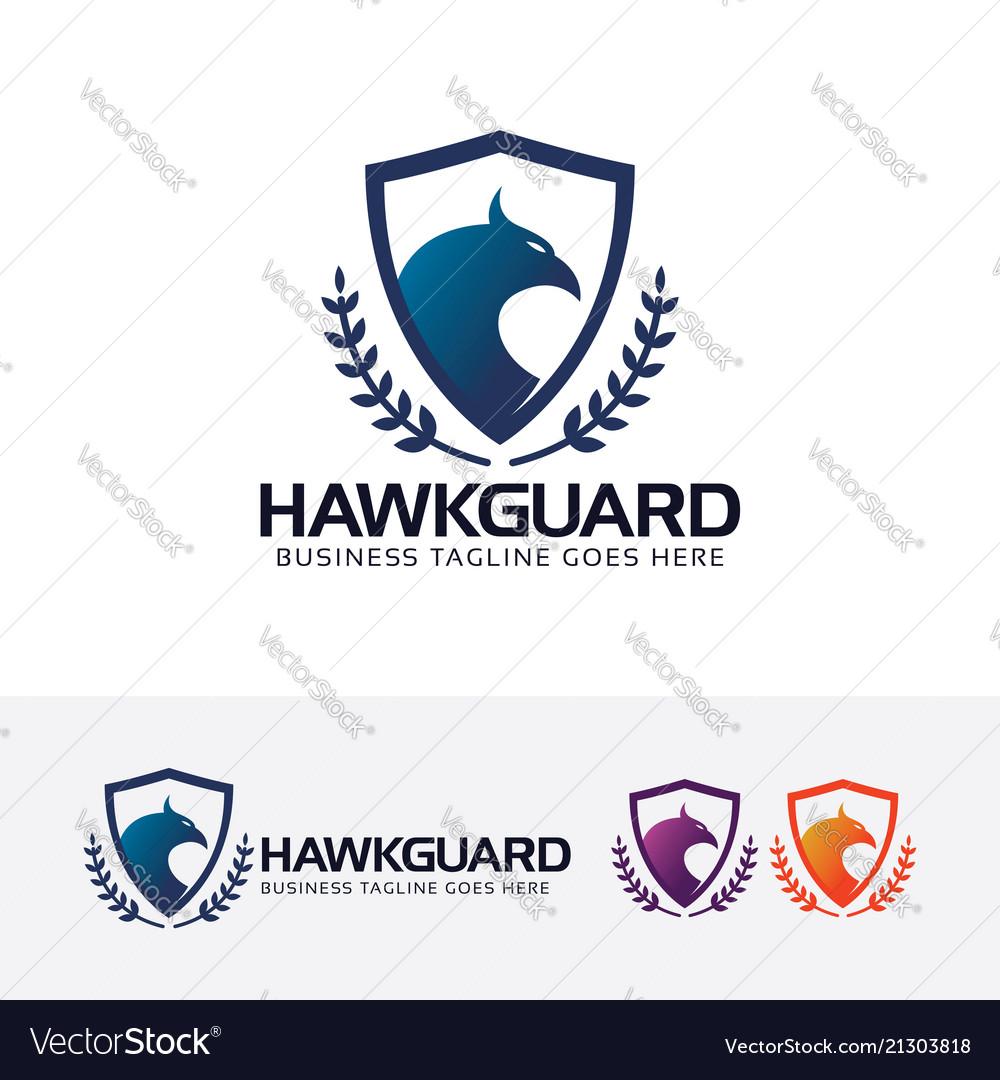 Hawk guard logo design