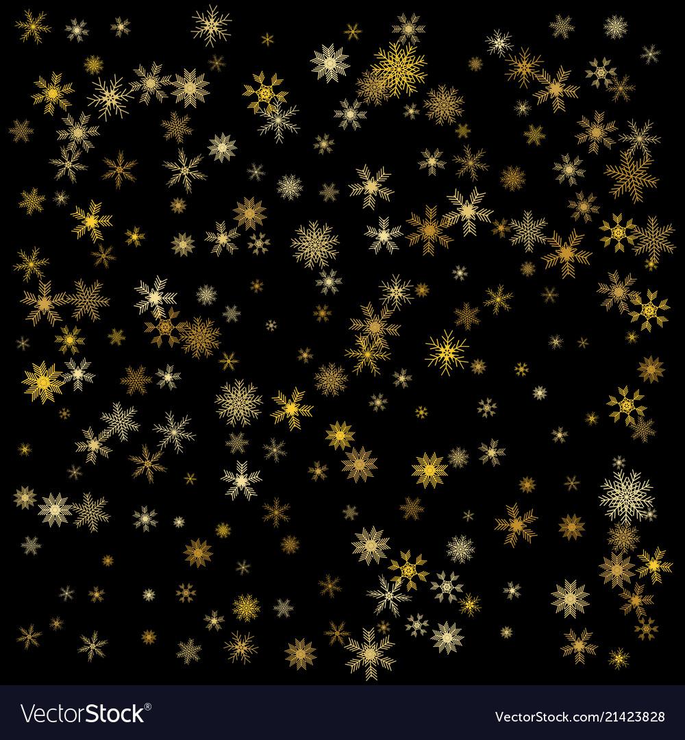 Elegant christmas background with shining gold