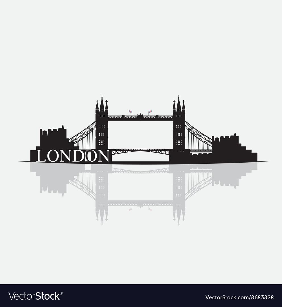 Skyline vector image