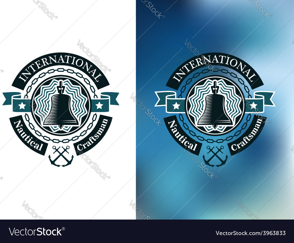 Creative Banner For Nautical Craftsman Royalty Free Vector