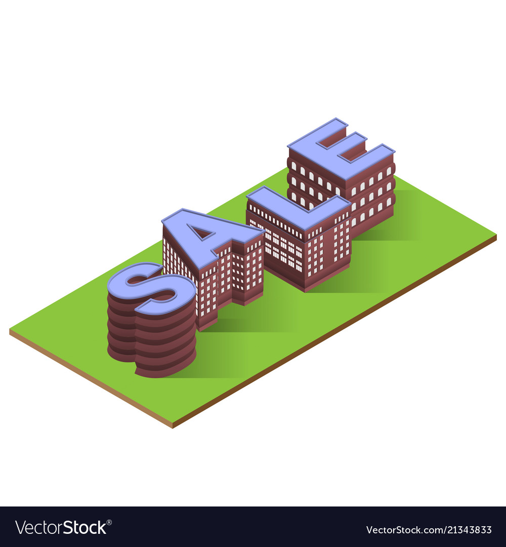Sale worg with buildings