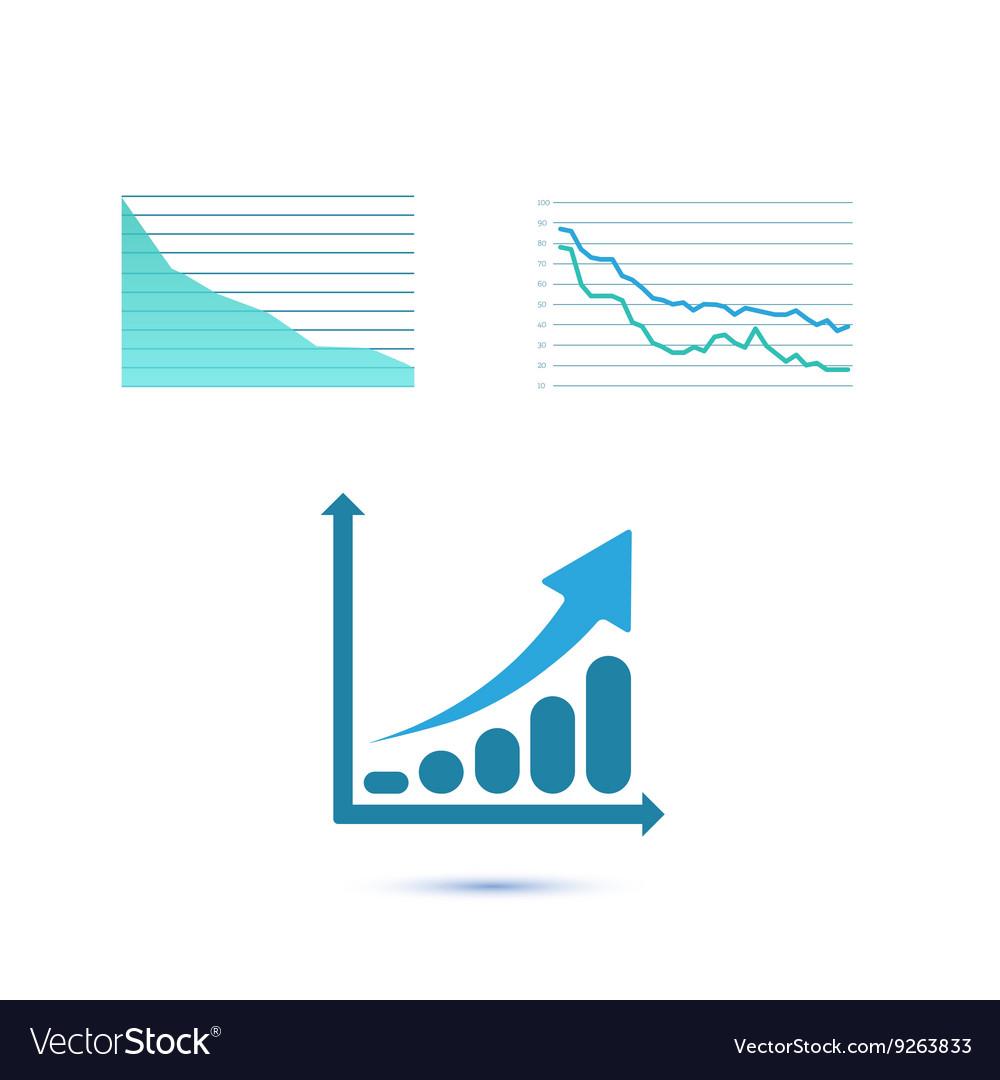 Set of three growth charts