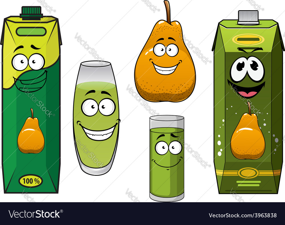 Pear fruit juice and drinks
