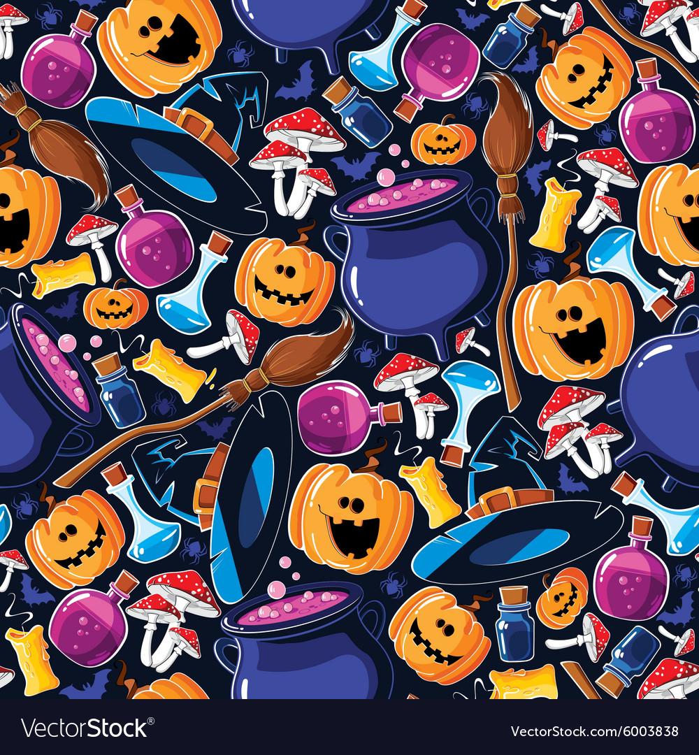 Seamless pattern Halloween