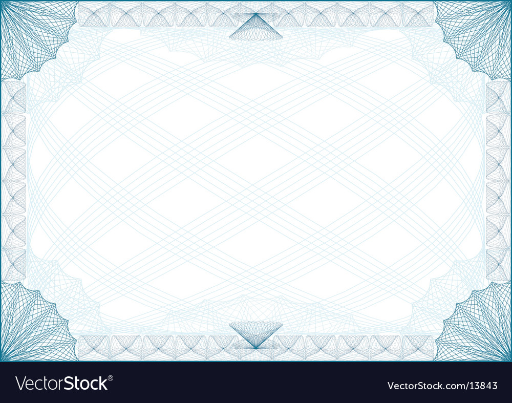Certificate border royalty free vector image vectorstock certificate border vector image yadclub Images