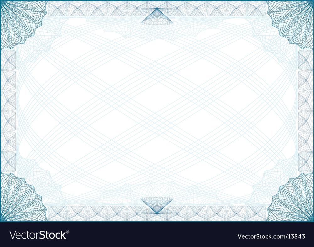 Certificate border Royalty Free Vector Image - VectorStock