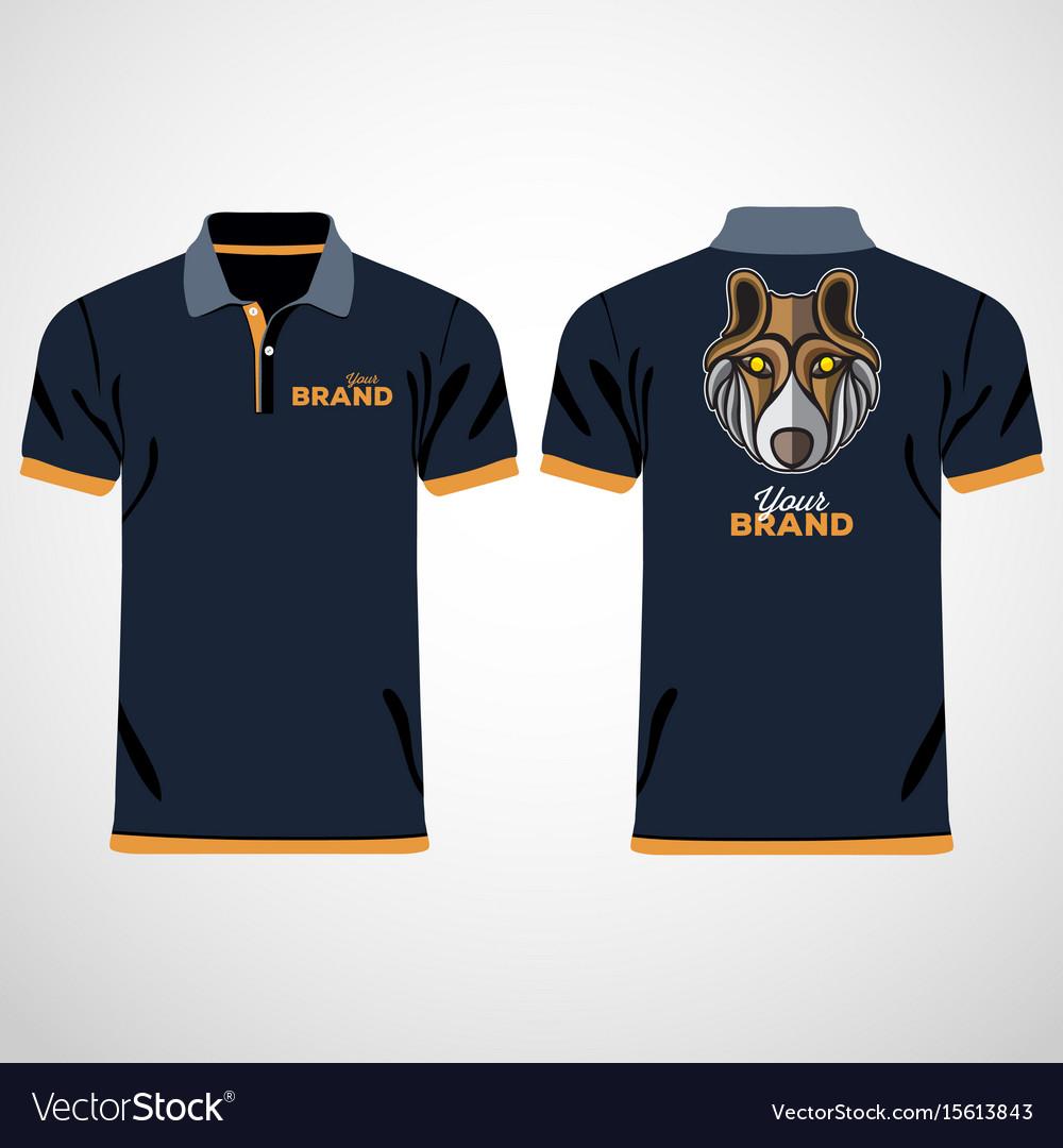 Color Men Polo Shirts Design Template