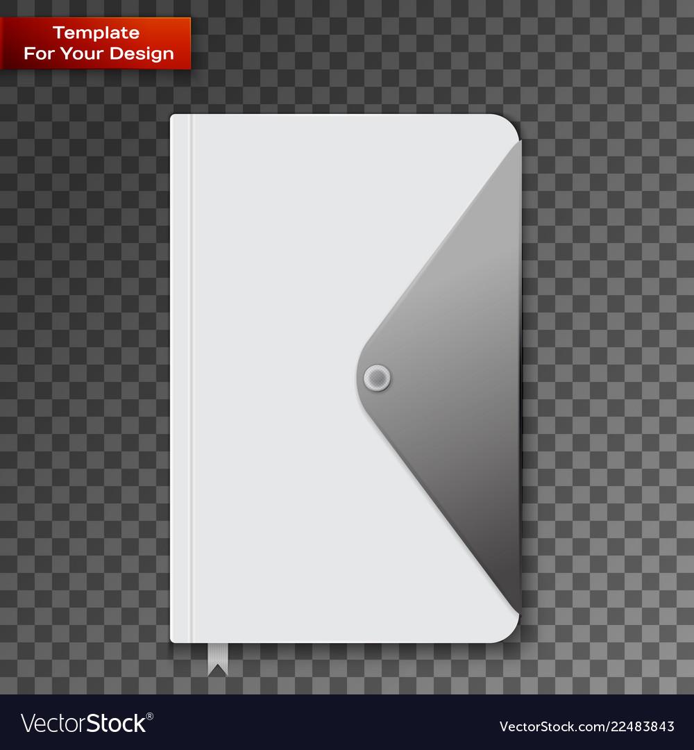 Notebook on transparent background