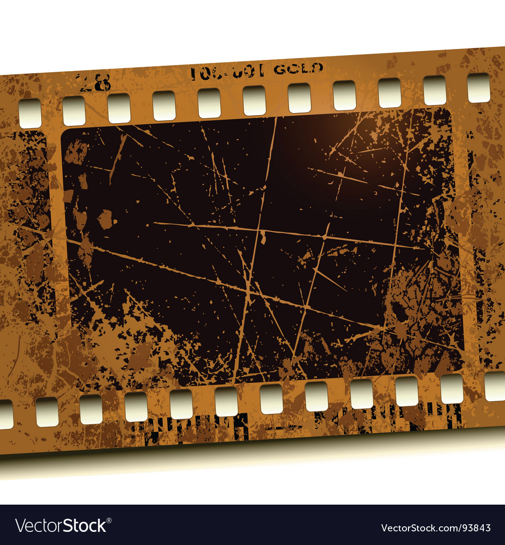 Photo film vector image