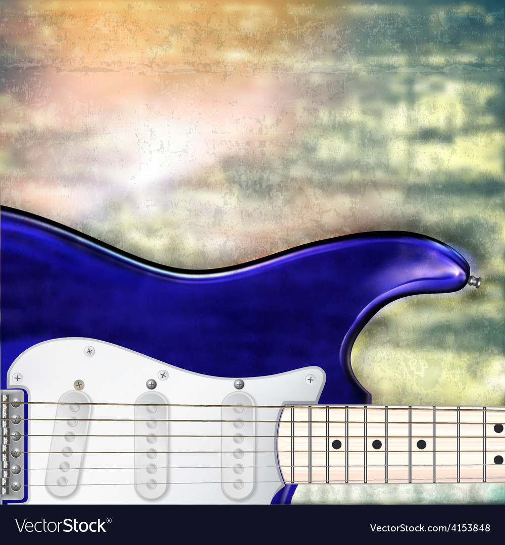 Abstract grunge jazz rock background with electric